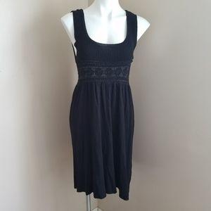 Kersh black sleeveless dress